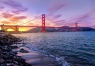 雄伟的美国旧金山金门大桥图片_21张