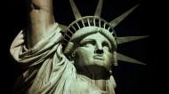 美国自由女神雕像图片_16张
