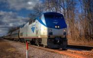 美国国铁客运火车图片_28张