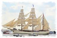 高大的现代船舶图片_20张