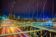 高架大桥美丽夜景图片_10张
