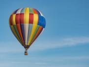 空中的热气球图片_15张