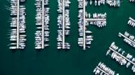 漂亮的码头俯瞰图片_18张