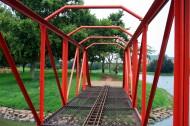 火车模型桥图片_10张