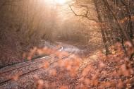 铁路的特写图片_11张