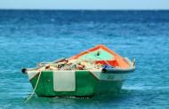 水上的渔船图片_17张