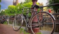 街道上的自行车图片_11张