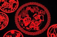 红色的春节窗花图片_11张