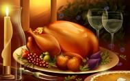 感恩节大餐矢量图片_20张
