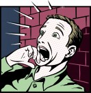 卡通插画男性人物表情矢量图片_28张