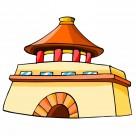 中国特色建筑卡通图片_329张
