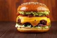 美味的汉堡图片_11张