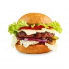 美味的汉堡图片_10张