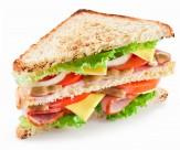 美味的三明治图片_10张