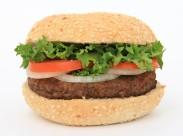 看起来不大好吃的汉堡包图片_11张
