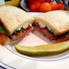 美味三明治图片_9张