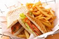 美味可口的三明治图片_20张
