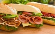 卖相超级好的三明治图片_10张