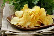 美味的薯条和薯片图片_15张