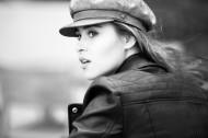戴帽子的时尚美女图片_11张