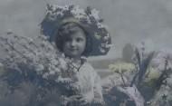 儿童复古彩色影像图片_19张