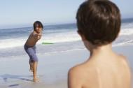 家庭海滩度假图片_80张