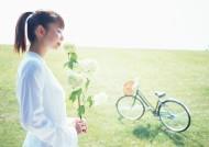 女性骑自行车休闲图片_20张