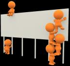 3D橙色小人png图片_30张