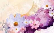 漂亮花朵信纸图片_12张