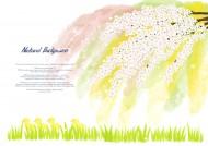 明亮黄色韩国花朵背景图片_19张