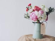 插满鲜花的花瓶图片_16张