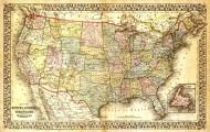 美国地图高清图片_11张