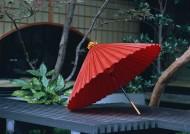 日式庭院油伞图片_6张