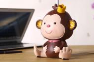 卡通小猴子台灯图片_9张