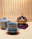 西式茶具花茶图片_8张
