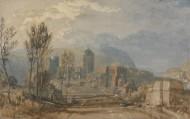 约瑟夫·马洛德·威廉·透纳绘画之建筑人物系列图片_15张