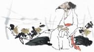 传统男性形象绘画图片_131张