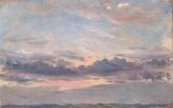 约翰·康斯太勃尔绘画之天空系列图片_15张