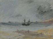 约瑟夫·马洛德·威廉·透纳绘画系列之船图片_16张