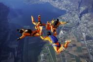极限跳伞图片_13张