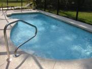 清凉的游泳池图片_13张