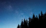 繁星点点的星空图片_18张