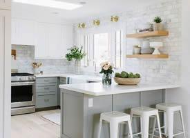 厨房设计参考,相信你会爱上做饭
