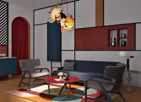 家居设计·色块设计装修效果图欣赏