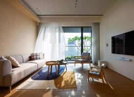 174平台式四居装修效果图,阳光满屋