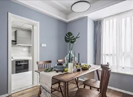 130平细腻北欧风三居室装修效果图