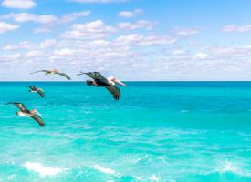 一组超唯美的蓝色大海图片欣赏