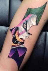 帅气的影视蝙蝠侠相关的纹身图案