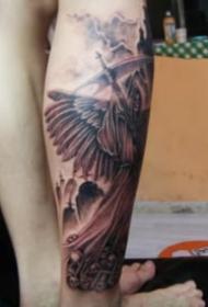 霸气的一组欧美死神纹身作品欣赏