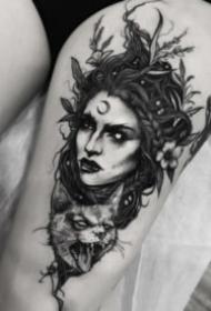 30组欧美暗黑纹身图片作品赏析